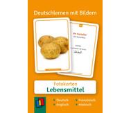 60 Fotokarten Lebensmittel - Deutschlernen mit Bildern