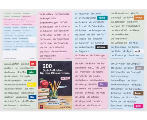 Worte - Aufkleber 200 Stueck-2