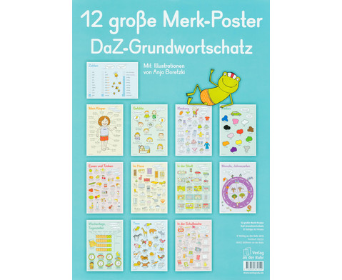 Merk-Poster - DaZ Grundwortschatz 12 Stueck-1