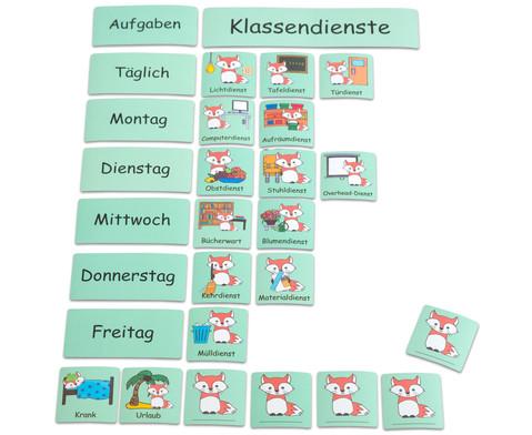 Klassendienste-Tafelmagnete-Set