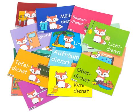 Klassendienste-Postkarten