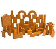 Große Holzbausteine Unit Bricks, 100 Stück