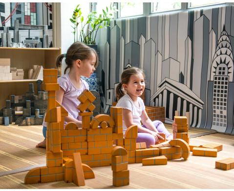 Grosse Holzbausteine Unit Bricks 100 Stueck-3