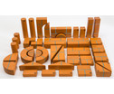 Grosse Holzbausteine Unit Bricks 100 Stueck-4