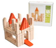 Mini Holzbausteine Unit Bricks, 40 Stück