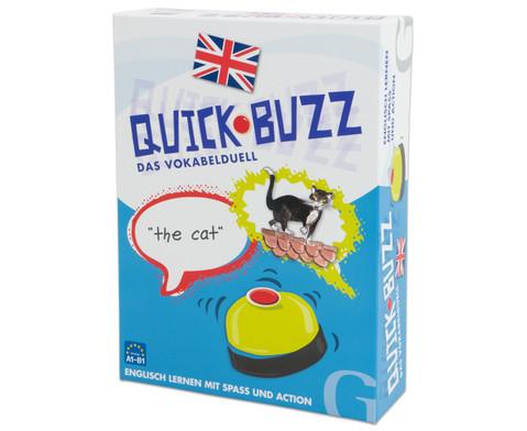 Quick-Buzz Vokabelduell Englisch