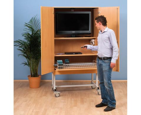 Fernsehschrank-Set Moviesafe Flat TV Profi