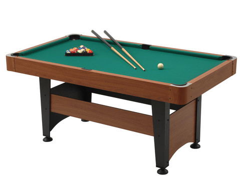 Billard-Set CHICAGO Spielflaeche 140 x 70 cm