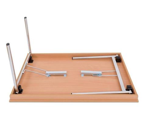 Klapptisch 160 x 80 cm 4-Fuss-Gestell-2