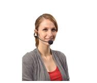 Funk-Kopfbügelmikrofon mit Empfängereinheit