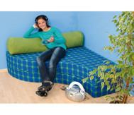 Komfortabel sitzen mit Rückenpolster