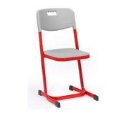 Luftpolster-Schülerstuhl mit Doppel-U-Fuß, Größe 4