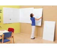 Langflächen-Whiteboard, einzelnes Modul