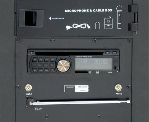 Komplett-Set Compra SoundBox 9995 Funk inkl Stativ-3
