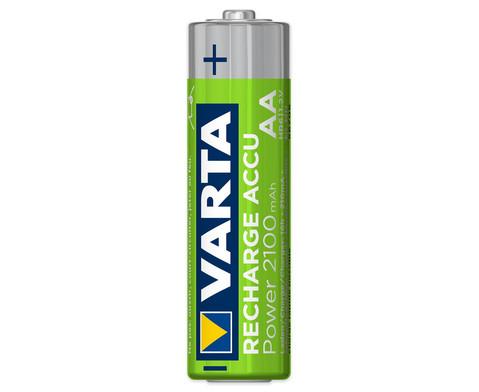 VARTA Rechargeable Akku Mignon AA 4 Stueck