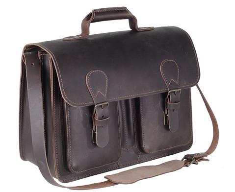 Timetex Business Tasche dunkelbraun-1