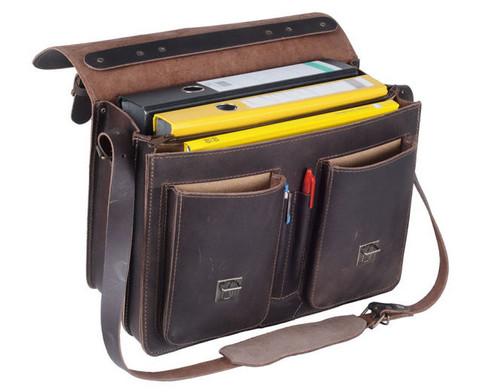 Timetex Business Tasche dunkelbraun-2