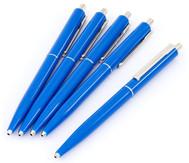 Druckkugelschreiber fürs Büro, 5er-Set