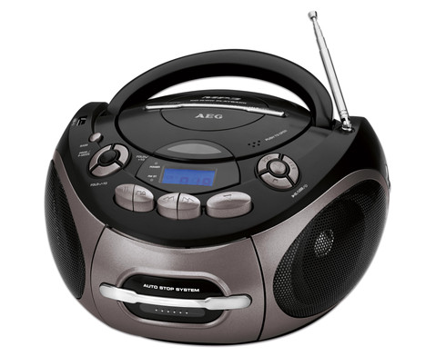 CD--MP3--Kassetten Player SR4366