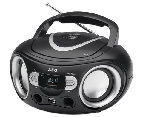 AEG CD-MP3- Player mit USB