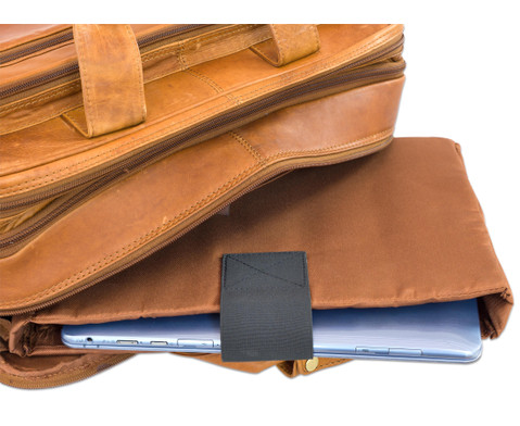 Umhaengetasche Ludwig Leder braun Notebookfach-6