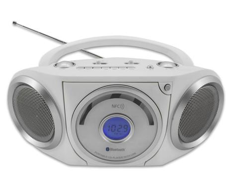 CD--MP3-Player RCD5000 Bluetooth weiss
