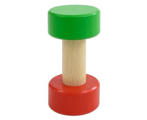 Gruppen-Ampel aus Holz 10 cm hoch-1