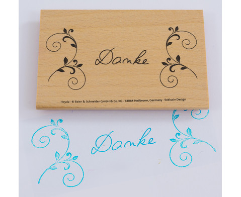 Stempel mit Schriftzug 8 x 4 cm-1