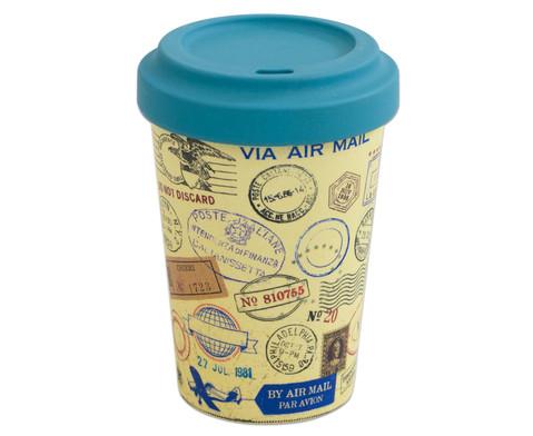 Kaffeebecher aus Bambusfaser-3