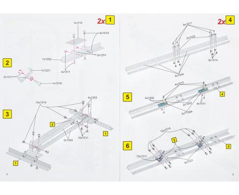 Kugelbahn Metallbaukasten-6