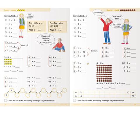 Ich kann multiplizieren und dividieren fuer die 2 Klasse-4