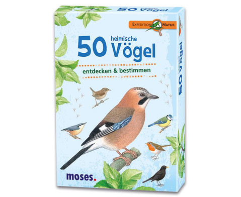 Expedition Natur 50 heimische Voegel