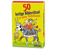 50 lustige Bilderrätsel für kleine Knobelfreunde