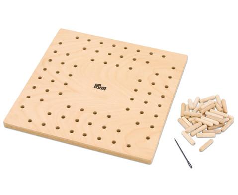 Holzknuepfbrett Loom Maxi