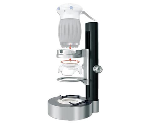 Handmikroskop mit LED Stand-2