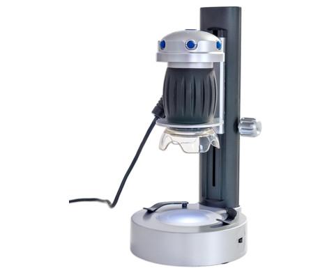 Handmikroskop mit LED Stand-5