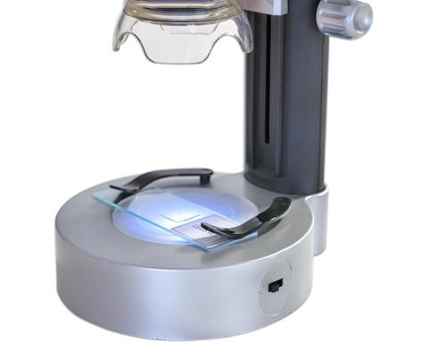 USB Handmikroskop mit Standfuss-4