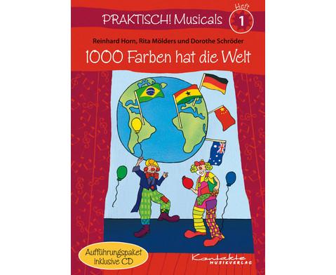 Praktisch Musicals 1 - 1000 Farben hat die Welt-1