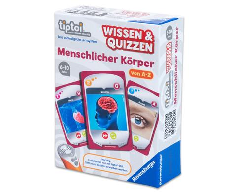 Wissen  Quizzen Menschlicher Koerper-1