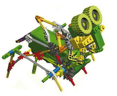 Der kleine Hacker Bionik Roboter-4