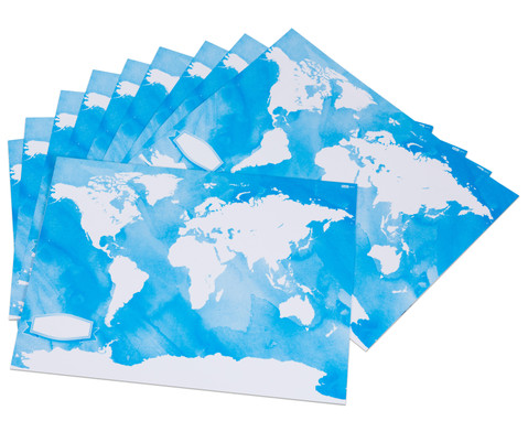 Weltkarten zum Bemalen 24 Stueck-2
