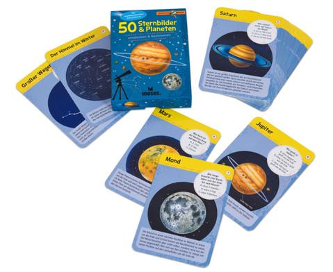 50 Sternbilder und Planeten