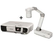 Beamer OHP 2.0 Epson W42 + Objektkamera ELP DC21
