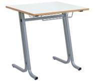 Schüler-Einzeltisch swing Tischplatte  75 x 65 cm