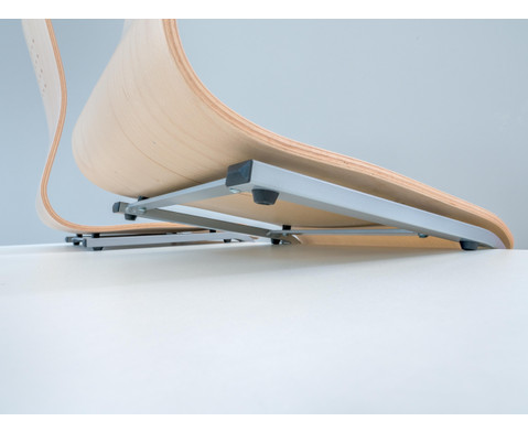 Schuelerstuhl mit Buchenholz-Schale ohne Sitzpolster-4