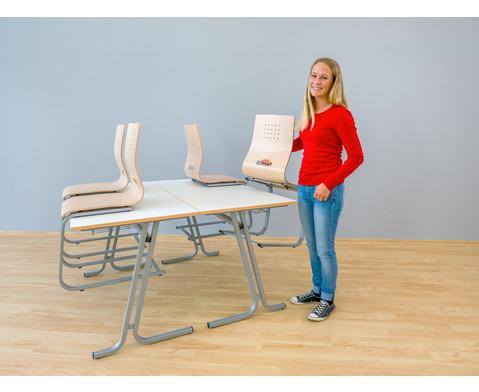 Schuelerstuhl mit Buchenholz-Schale ohne Sitzpolster-5