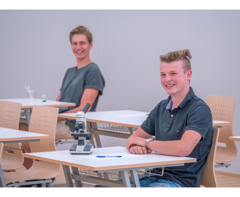 Schuelerstuhl mit Buchenholz-Schale Nur mit Sitzpolster-5