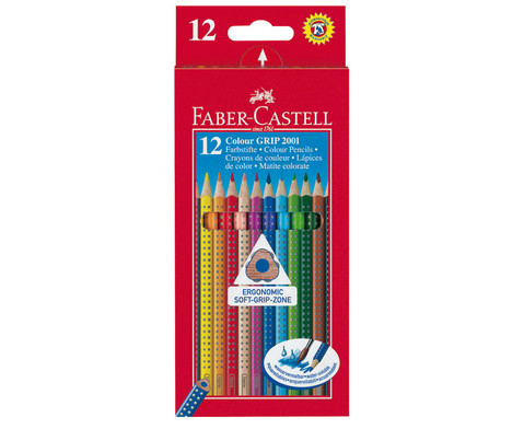 Faber-Castell Colour Grip Holzstifte duenn-5