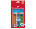 12 dicke Faber-Castell Colour Grip Holzstifte-1