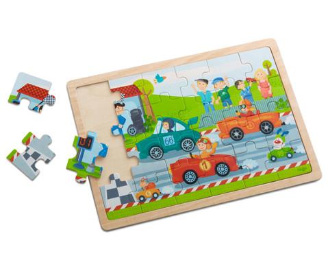 Holzpuzzle Flotte Flitzer-3
